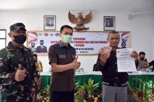 Masyarakat PKL - Warung Salatiga Terima Bantuan Tunai 1,2 Juta Rupiah